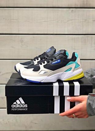 Шикарные женские кроссовки adidas falcone (36-40)😍