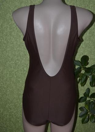 Шикарный купальник в коричневом цвете3