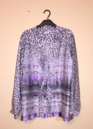 Красивая блуза milano italy для пышных форм р.44