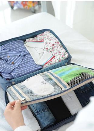 Дорожная сумка для путешествий, тревел органайзер (на чемодан)