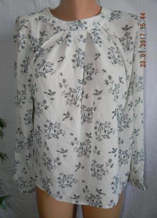 Нежная блуза с открытой спинкой