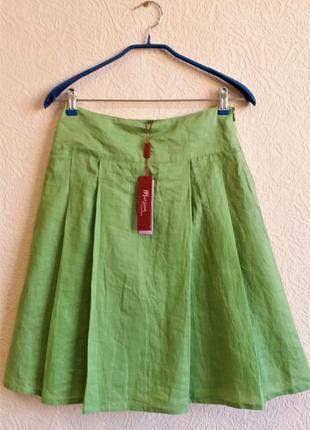 Льняная юбка/юбка из рами monsoon