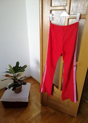 Sale 🔥🔥🔥 брюки с лампасами высокая посадка