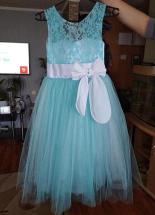 Крутое платье для девочки на выпускной или на праздник