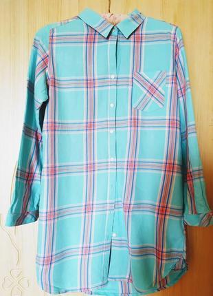 Халат-рубашка, 100 процентов хлопок