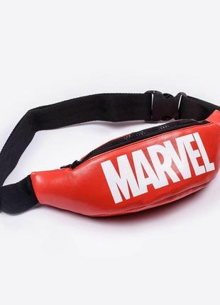 Поясная сумка бананка marvel