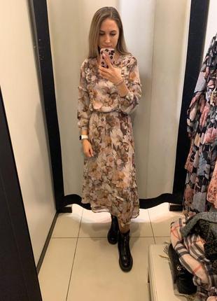 Платье миди цветы мохито mohito