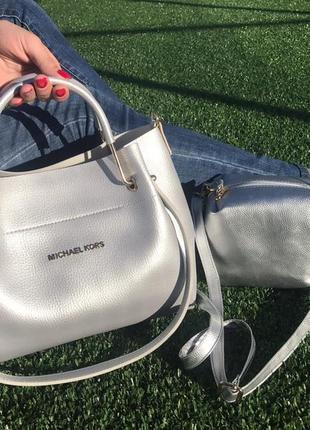 Женская сумка экокожа комплект (арт.л1642)