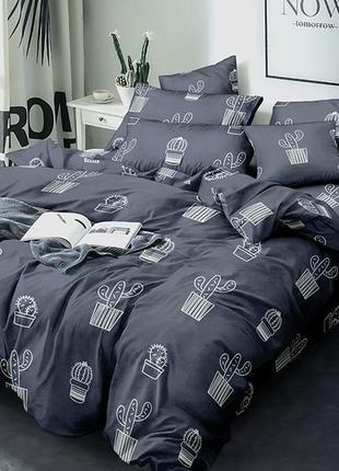 Двуспальный комплект постельного белья сатин-люкс
