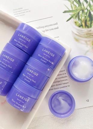 Ночная маска с ароматом лаванды laneige water sleeping mask pack lavender