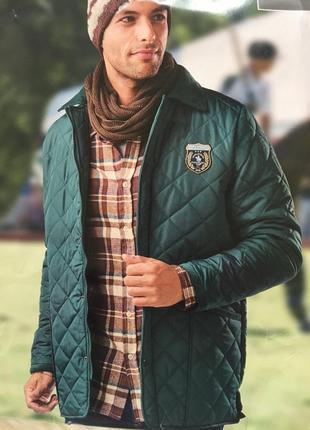Мужская курточка на весну, куртка весна/осень, стеганая куртка м, l