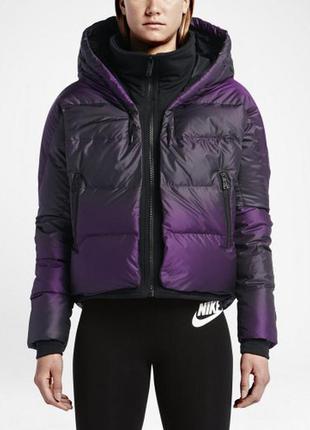 Фирменный пуховик  куртка nike women's 550 cocoon