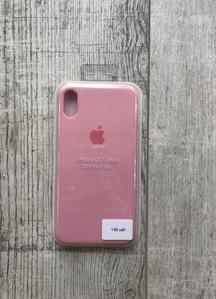 Чехол на айфон xs max silicone case iphone xs max