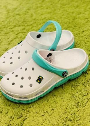 Сабо в стиле крокс . тапочки, лапти. летняя обувь