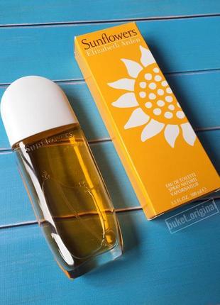 Акція оригинал elizabeth arden sunflowers 100 мл оригінал парфуми духи