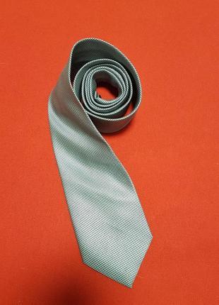 Стильный галстук серого цвета от next