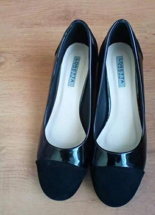 Классические туфли лодочки loretta