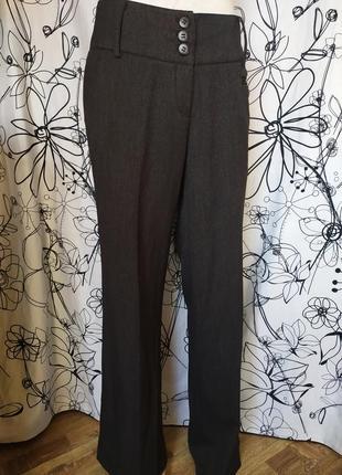 Классические брюки,высокая посадка,fransa