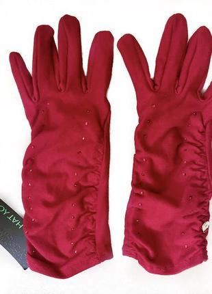 Перчатки новые с биркой