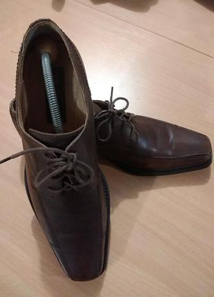 Мужские класические кожаные туфли 44 размера