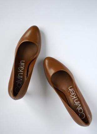 Туфли из натуральной кожи calvin klein