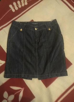 Джинсовая юбка d&g