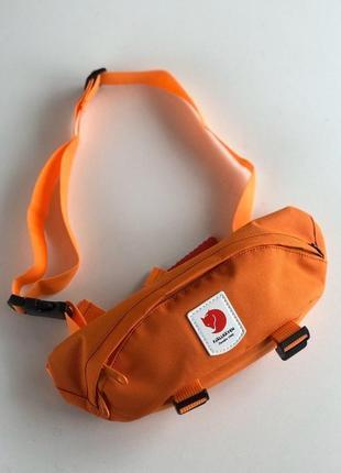 Шикарные поясная сумка унисекс fjällräven ulvo hip pack medium