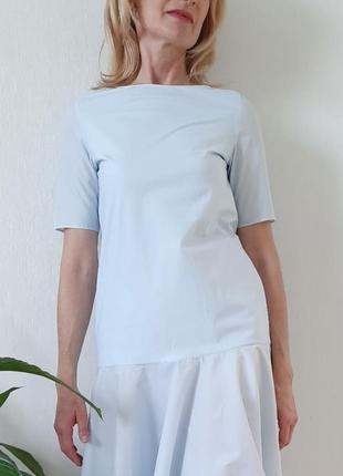 Светло голубое платье massimo dutti, zara,cos, размер 32
