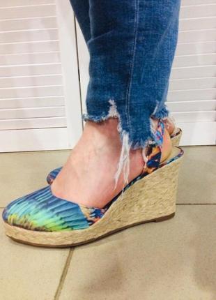 Летние туфли san marina