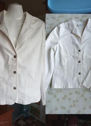 Джинсовый пиджак 46-48