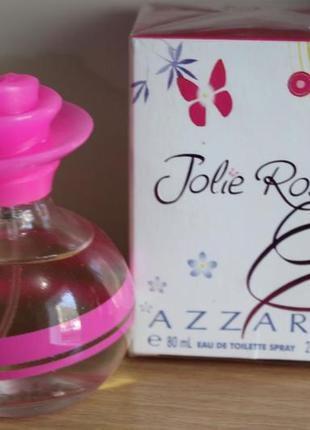 Женская туалетная вода 80 мл azzaro jolie rose