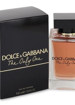 Dolce&gabbana the only one, 100 мл, оригинал