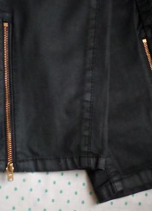 Черные джинсы с молниями на щиколотке l/xl
