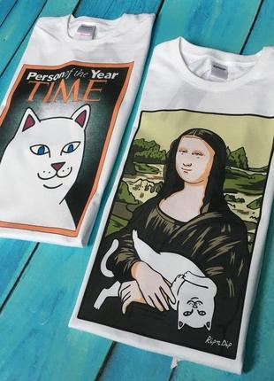 Трендовые футболки мужские и женские размеры