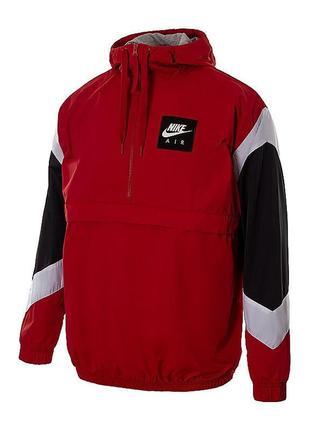 Куртка ветровка анорак бомбер nike sportswear air jacket hd woven (s-l-m) оригинал! -20%