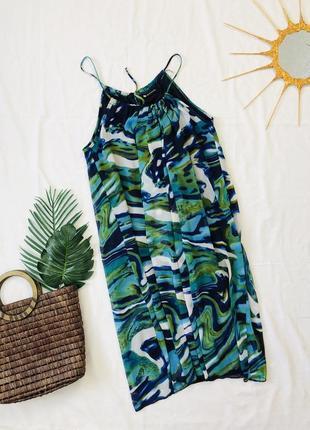 Короткое платье сарафан/ сукня