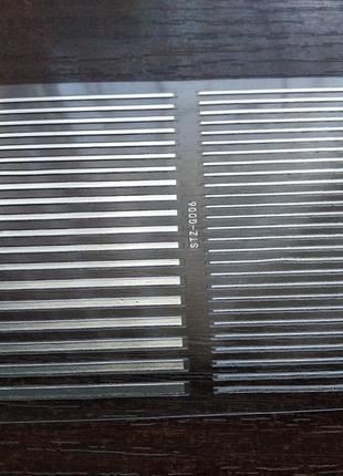 Гибкие ленты для маникюра, номер 06, серебро