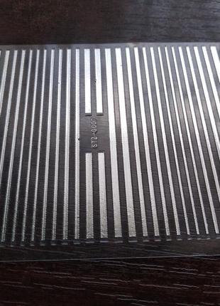 Гибкие ленты для маникюра, номер 07, серебро