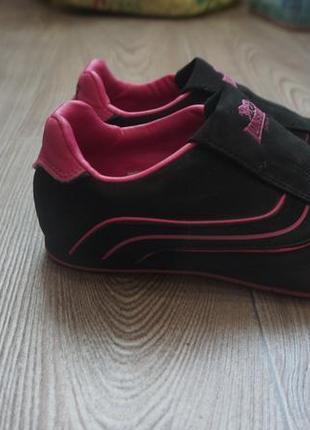 """Кожанные кроссовки  """"lonsdale camden trainers childrens"""" р1(по стельке 20см)"""