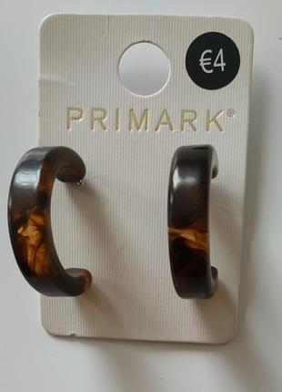 Сережки от primark.