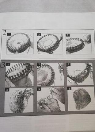 "Вязания , набор ""учимся вязать""6 фото"