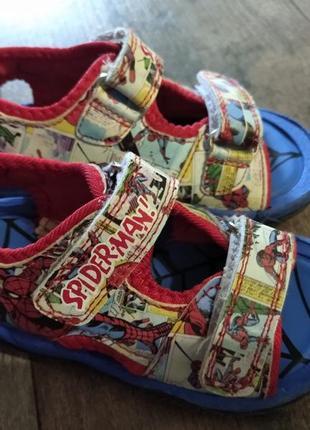 Босоножки сандали marvel spiderman