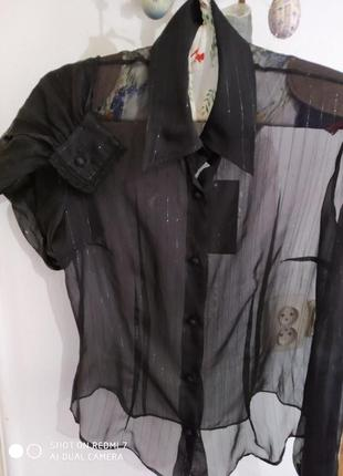 💯шовкова блуза-сорочка sportmax,max mara
