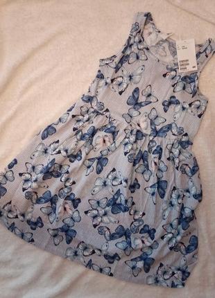 H&m платье сарафан 122/128 на 6-8 лет