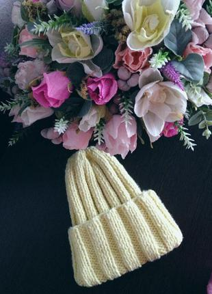 Вязанная шапка hand made