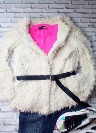 Куртка teddy bear пушистая меховая жакет