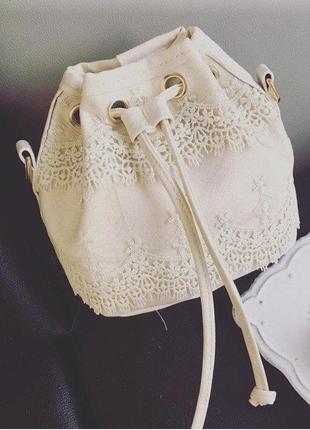 Сумка- мешок, сумка- ведро на цепочке