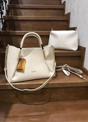 Женская сумка экокожа комплект (арт.л1901)
