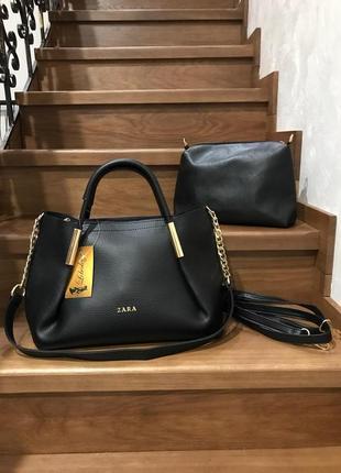 Женская сумка экокожа комплект (арт.л1903)