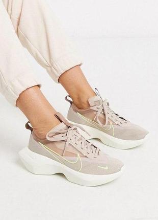 Крутые женские летние кроссовки nike vista lite бежевого цвета 😍